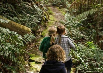 Essie and bushwalking