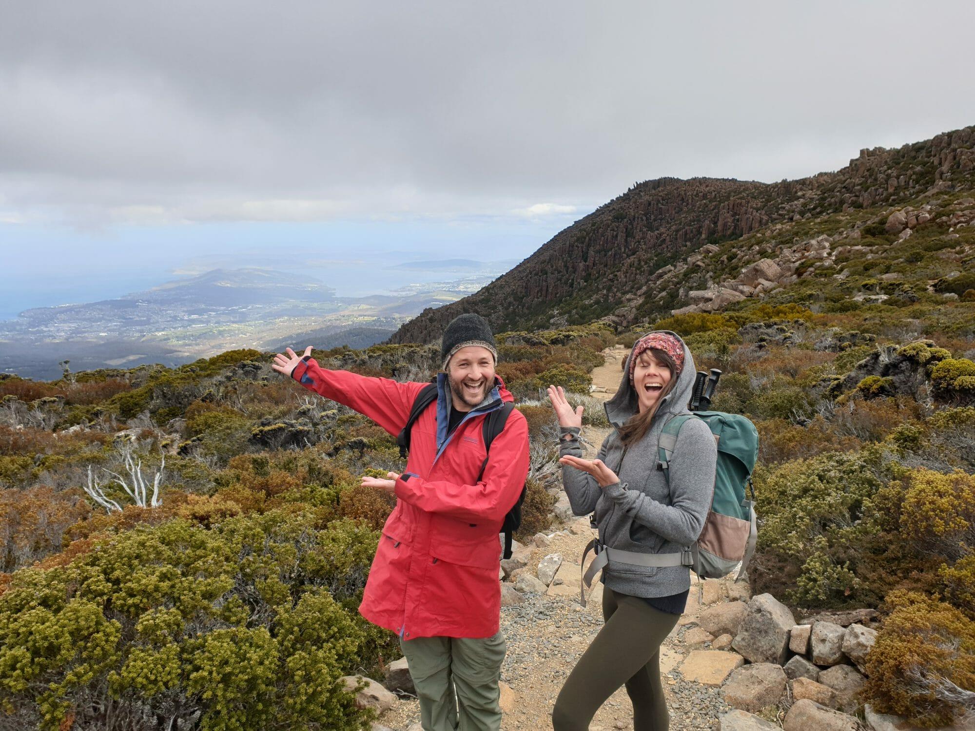 Snow, Ice house track, best 5 walks on mt wellington, hiking, hobart, tasmania.